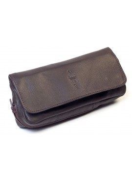 Savinelli- Leather Pouch Brown
