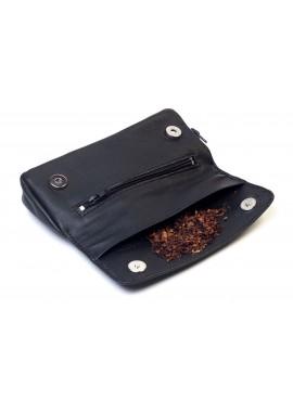 Savinelli- Leather Pouch Black