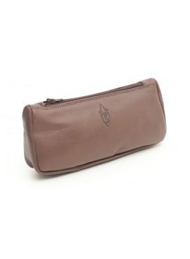 Savinelli- Leather Pouch Brown Vintage