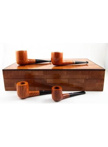 Pipe castello - Exclusive Box set Of Billiard Fiammata