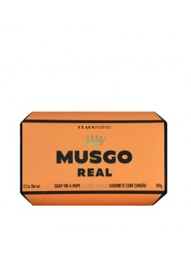 Musgo Real SOAP ON A ROPE  ORANGE AMBER