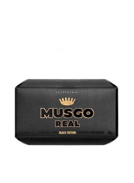 Musgo Real SOAP ON A ROPE BLACK EDITION