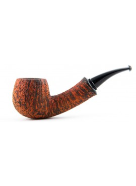 Pipe Il Duca Bent Apple Sandblasted