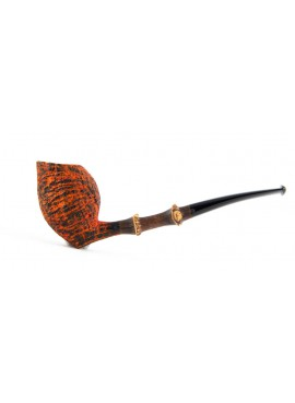 Pipe Il Duca B Sanblasted with Bamboo