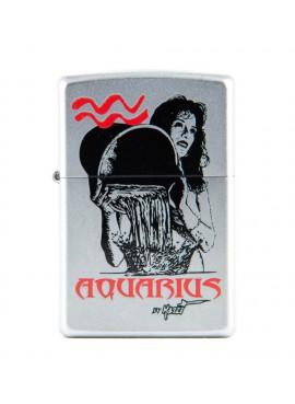Lighter Zippo Aquarius