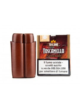 Toscano Leather Case 2 Brown