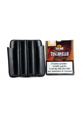 Toscano Leather Case 4 Black