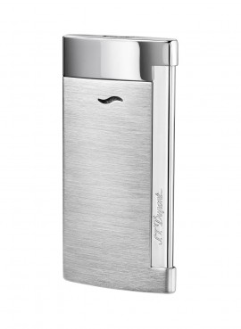 St Dupont Lighter Slim 7 Brushed chrome