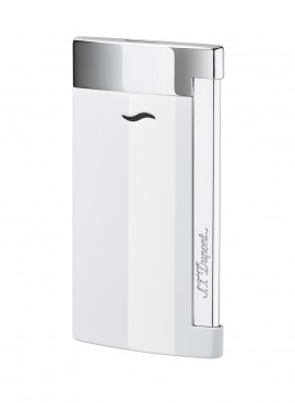 St Dupont Lighter Slim 7 White