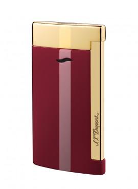 St Dupont Lighter Slim 7 Lotus Red