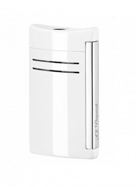 St Dupont Lighter Maxijet White