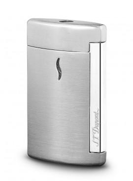 St Dupont Lighter Minijet Grey Brushed