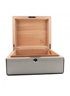 Lubinski Cigars Humidor White