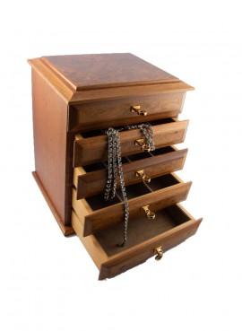Agresti Florence Jewelry Briar box