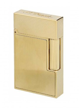 Ligheter ST Dupont - Linee Small 2 Brushed Gold C18602