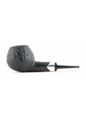 Pipe Suhr Apple Sandblasted  With Silver Ring
