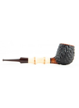 Pipe Mike Bay Apple w// Bamboo Rusticated