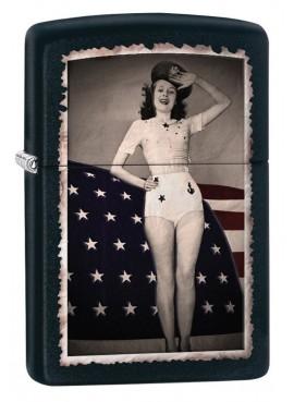 Zippo - Flag Woman