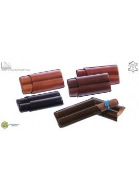 Lubinski- Cigar Case 2 Robusto Avana