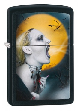 Lighter Zippo screaming vampire