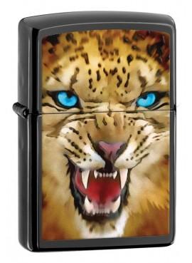 Ebony Jaguar Zippo Art 28276